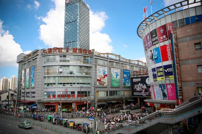 上海七浦路尾货批发市场