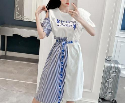 ins风格清凉款连衣裙:女生逛街就该这样穿