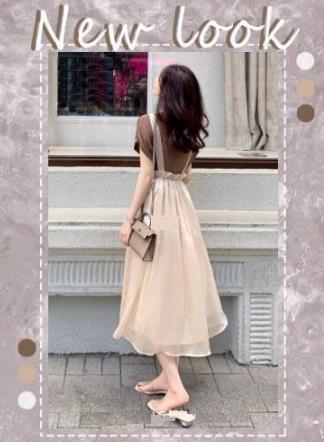 杏色裙子配什么上衣好看,杏色裙子配什么颜色时尚