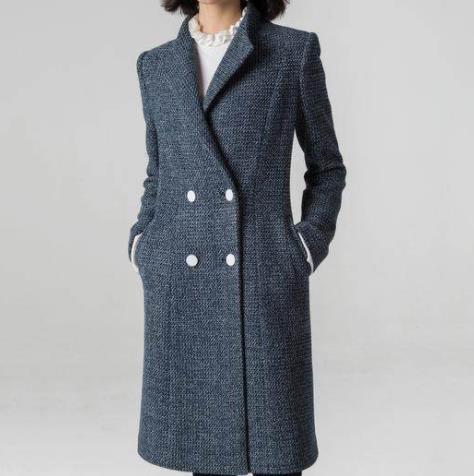 时尚呢子大衣2018秋冬新款式:时髦奢华保暖美美哒