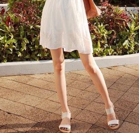 白色的连衣裙怎么搭配鞋子:潮人最爱搭配技巧(图)