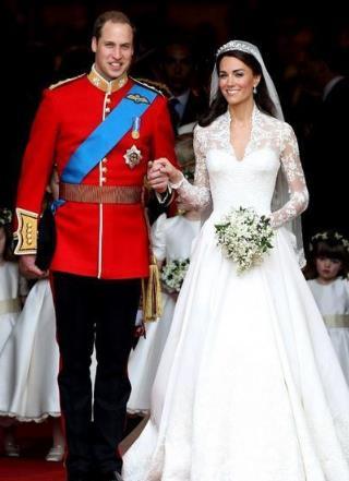 世界上最昂贵的婚纱