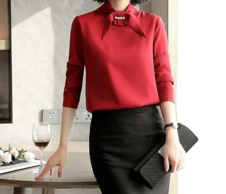 2018年流行6款红色衬衫:最时髦的超美穿搭