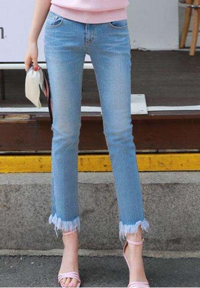 紧身裤让你显瘦:有魅力有范又清新