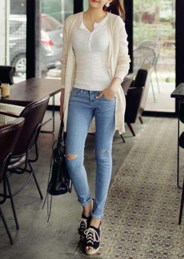 紧身裤简约时尚就是美:造型完美身段优雅(图)