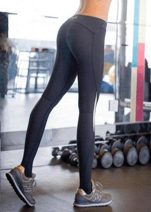 运动健身裤简单搭配:性感撩人女神范(图)