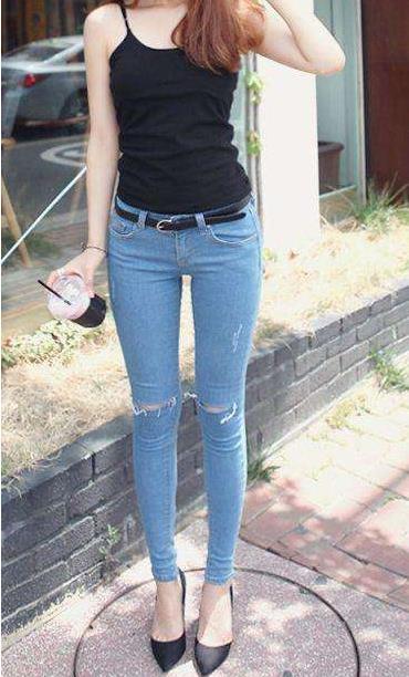 紧身裤的时尚穿搭:紧身裤适合多种场合好看几倍