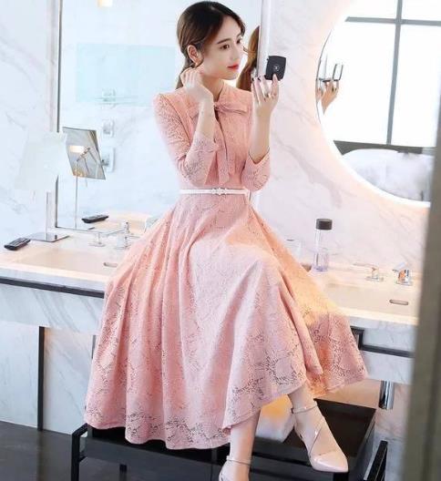时尚百搭只需一条美美的长裙:穿搭美丽不掉线
