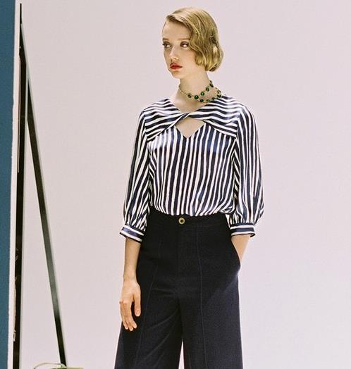 显瘦时髦新选择 5款衬衫搭配又酷又美(图)