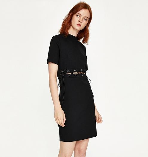 今年流行绑带连衣裙 让优雅更自在(图)