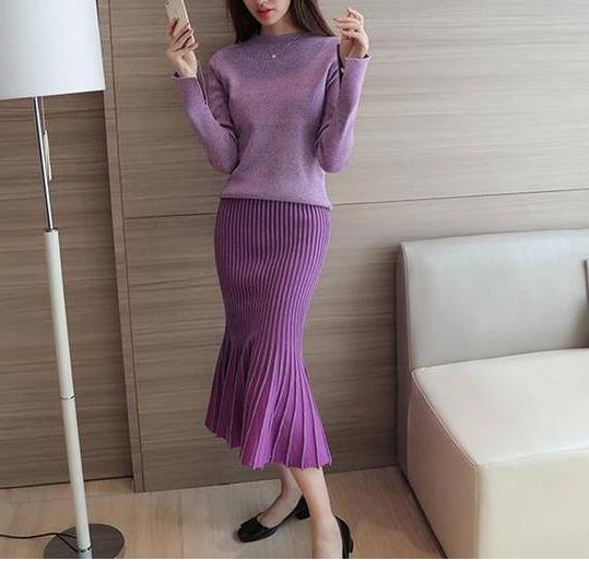 推荐2018春季时尚收腰套裙:清致的美感时装(图)