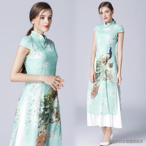 传统古典旗袍女夏季新款中国风改良式