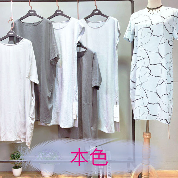 真丝连衣裙 深圳高端货本色女装 品牌折扣服装货源