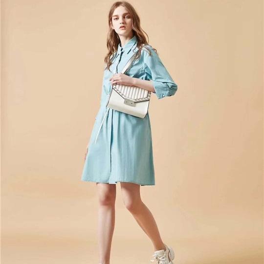 服装批发货源 尤西子春季品牌女装批发