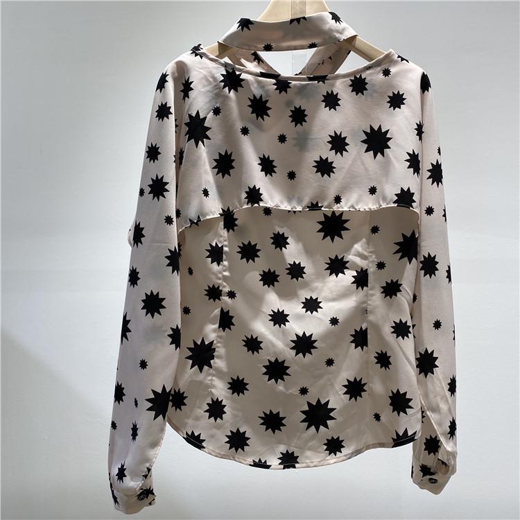 尾货厂家批发 奥联优选女装品牌简约风情个性雪纺衫