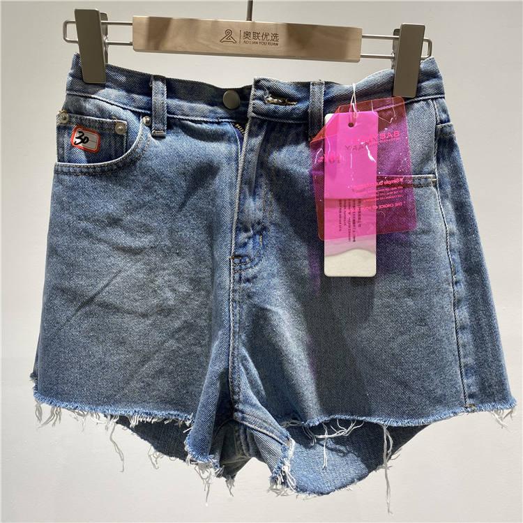 服装货源 宝贝玛丽品牌牛仔超短裤