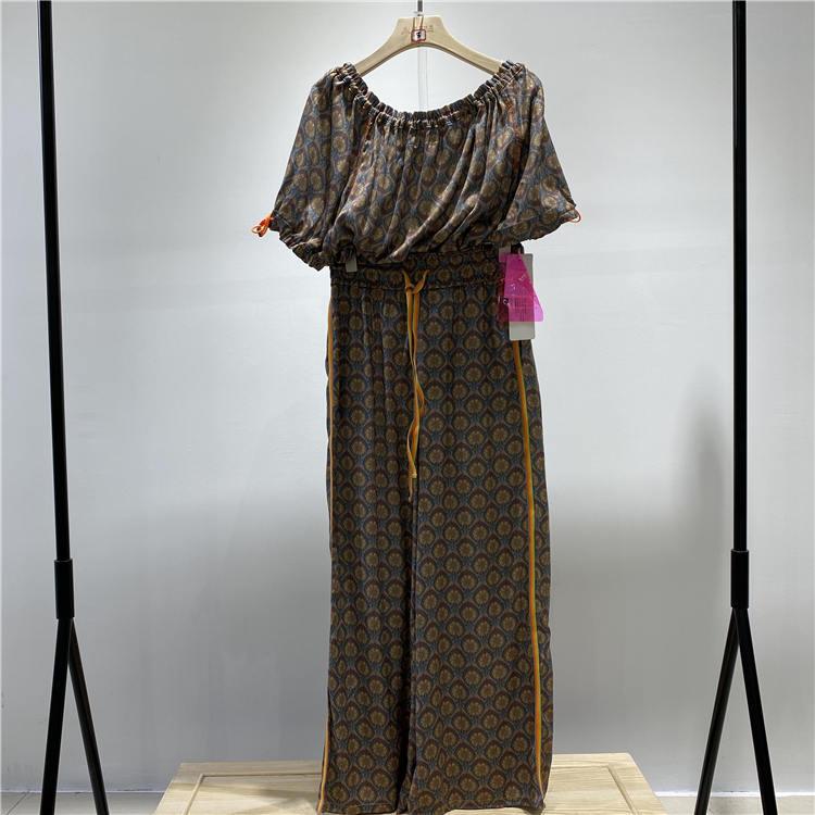 品牌女装尾货货源 宝贝玛丽品牌夏款休闲套装