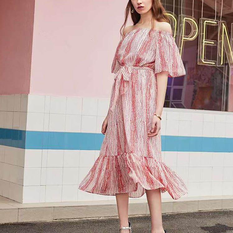 大码棉麻连衣裙 衣全球品牌 淘宝爆款女装